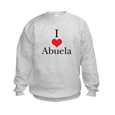 I Love (Heart) Abuela Sweatshirt