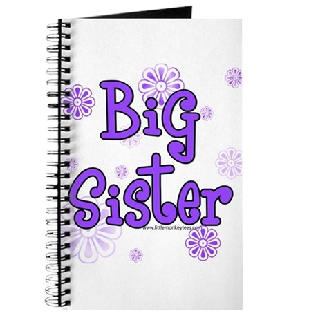 purple big sister Journal