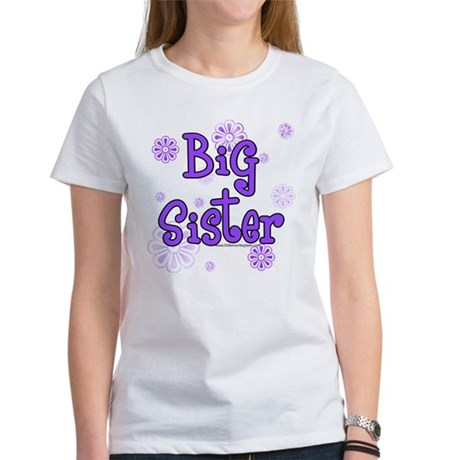 purple big sister Women's T-Shirt