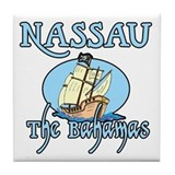 Nassau Tile Coaster