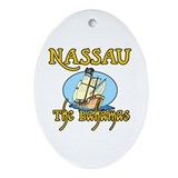 Nassau Oval Ornament