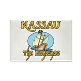 Nassau Rectangle Magnet