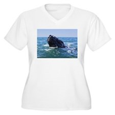 Gray Whale 2 Plus Size T-Shirt