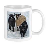 Pygmy Goat Trio Small Mugs
