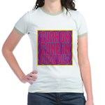 Turn On, Tune In, Drop Out Jr. Ringer T-Shirt
