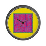 Turn On, Tune In, Drop Out Wall Clock
