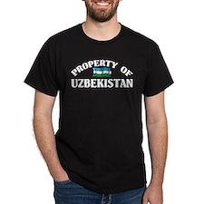 Property Of Uzbekistan T-Shirt