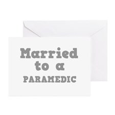 Married to a Paramedic Greeting Cards (Package of
