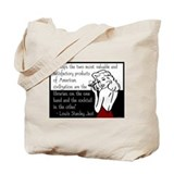 Librarians & Cocktails Tote Bag