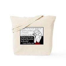 Librarians & Cocktails Tote Bag