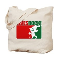 Elves Rock! Tote Bag