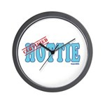 Certified Hottie Wall Clock