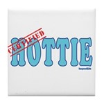 Certified Hottie Tile Coaster