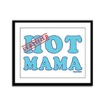 Hot Mama Framed Panel Print