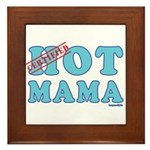 Hot Mama Framed Tile