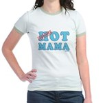 Hot Mama Jr. Ringer T-Shirt