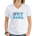 Hot Mama Women's V-Neck T-Shirt