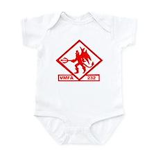 VMFA 232 Red Devils Infant Bodysuit