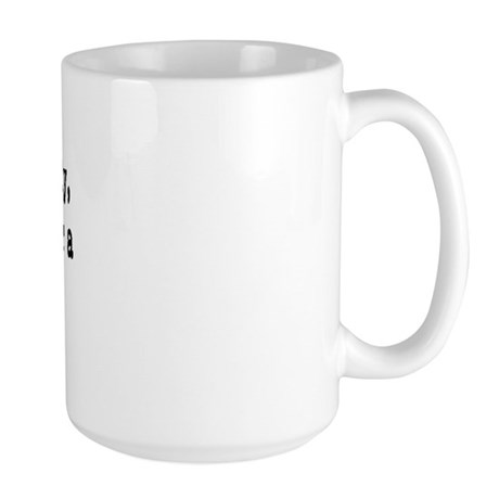 beer belly Large Mug
