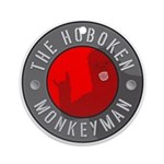 Hoboken Monkeyman Ornament (Round)