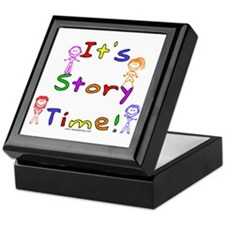 Story Time w Stick Kids Keepsake Box