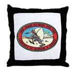 Iraq 100 Hour Fun Run Throw Pillow