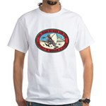 Iraq 100 Hour Fun Run White T-Shirt