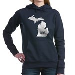 Iraq 100 Hour Fun Run Women's Raglan Hoodie