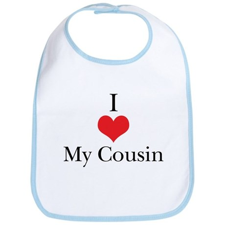 I Love (Heart) My Cousin Bib