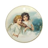 Fiddling Angels Ornament (Round)