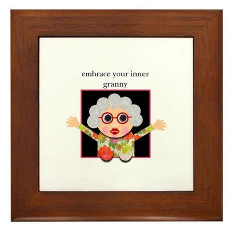 grandma Framed Tile