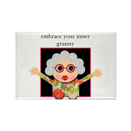 grandma Rectangle Magnet (100 pack)