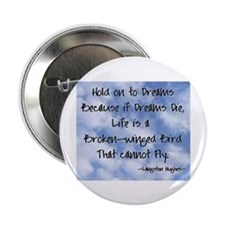 "Funny Langston hughes 2.25"" Button (100 pack)"