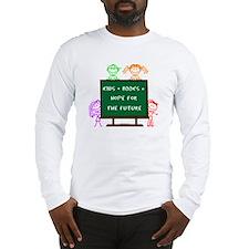 Kids + Books Long Sleeve T-Shirt