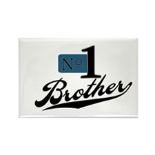 Number One Brother Rectangle Magnet (10 pack)