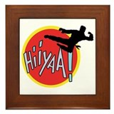 Karate Kid Framed Tile