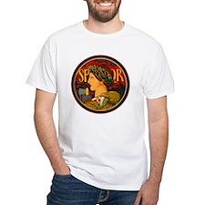 ITALY white t-shirt