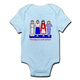 Nursing Is A Work Of Heart Onesie