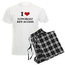 I Love Longboat Key Access Pajamas