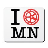I Bike MN Mousepad