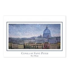 Cupola of St Peter Postcards (Package of 8)