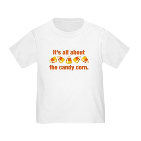 Candy Corn Toddler T-Shirt