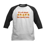 Candy Corn Kids Baseball Jersey