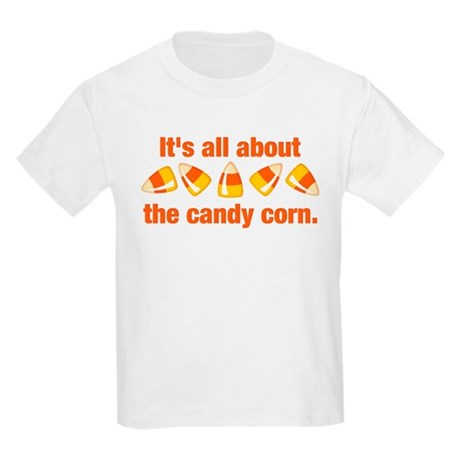 Candy Corn Kids Light T-Shirt