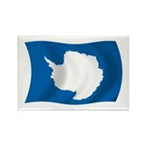 Antarctica Flag Rectangle Magnet (100 pack)