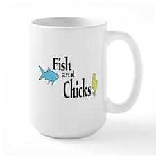 Fish and Chicks Mug