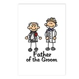 Cartoon Groom's Father Postcards (Package of 8)