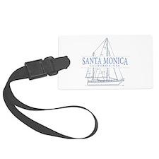 Santa Monica CA - Luggage Tag