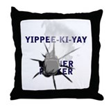 No Yippee Throw Pillow