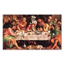 Pug Life Last Supper Decal
